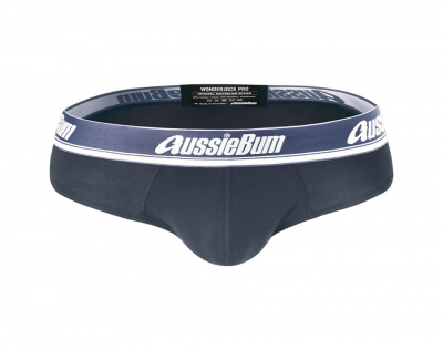 aussieBum Underwear Wonderjock Pro Brief Charcoal