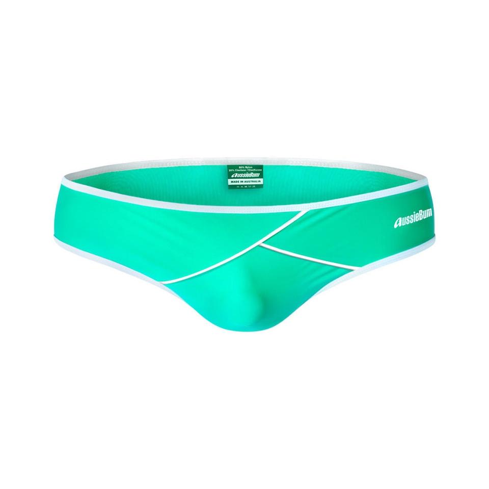 aussieBum Swimwear Geotron Green