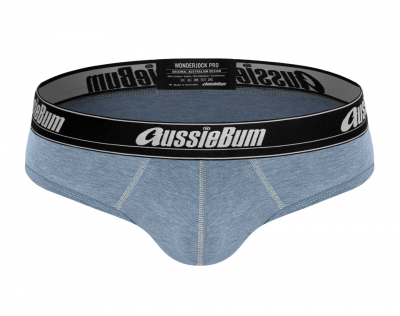 aussieBum Underwear Wonderjock Pro Brief Blue Marle