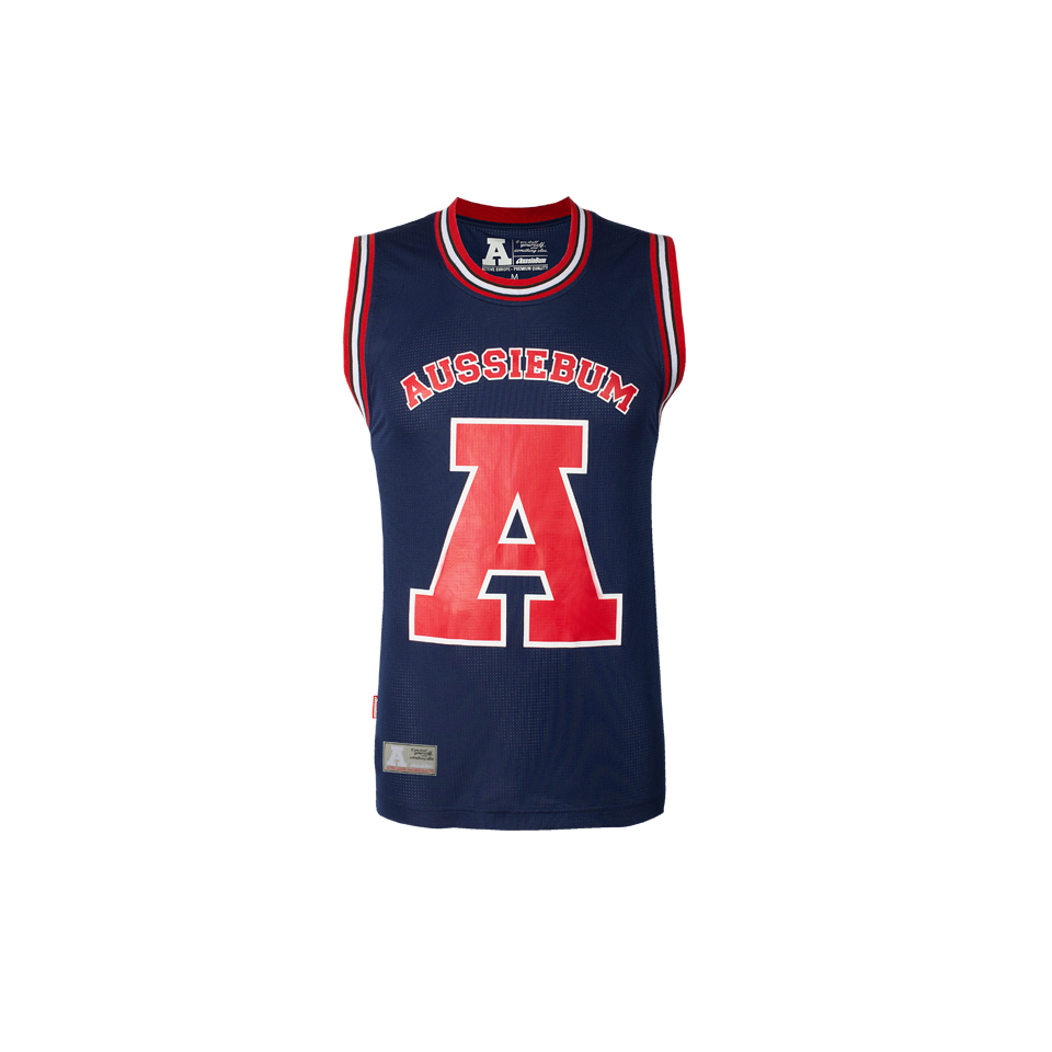 aussieBum Menswear Basketball Jersey Avoca