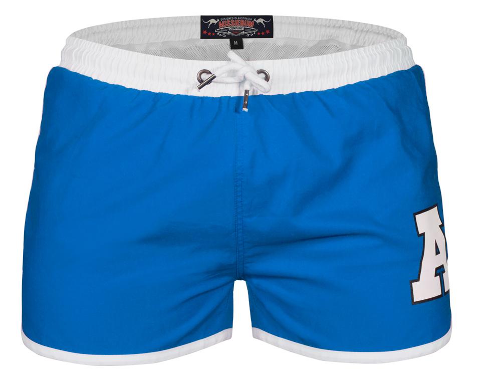 aussieBum Swimwear Stubby Blue Shorts