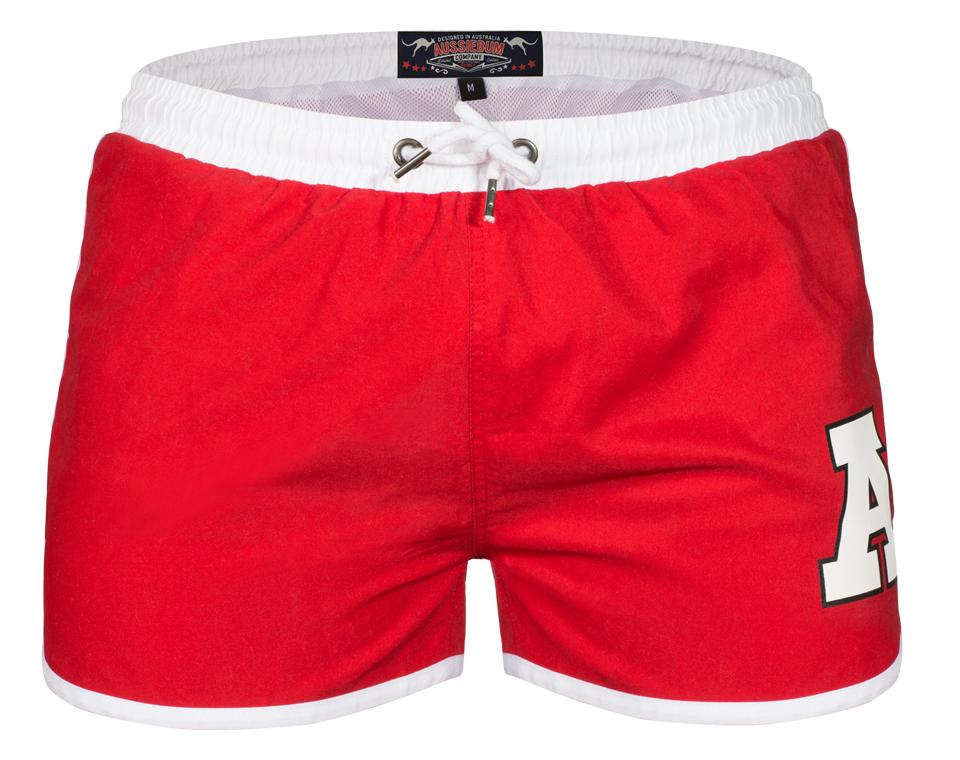 aussieBum Swimwear Stubby Red