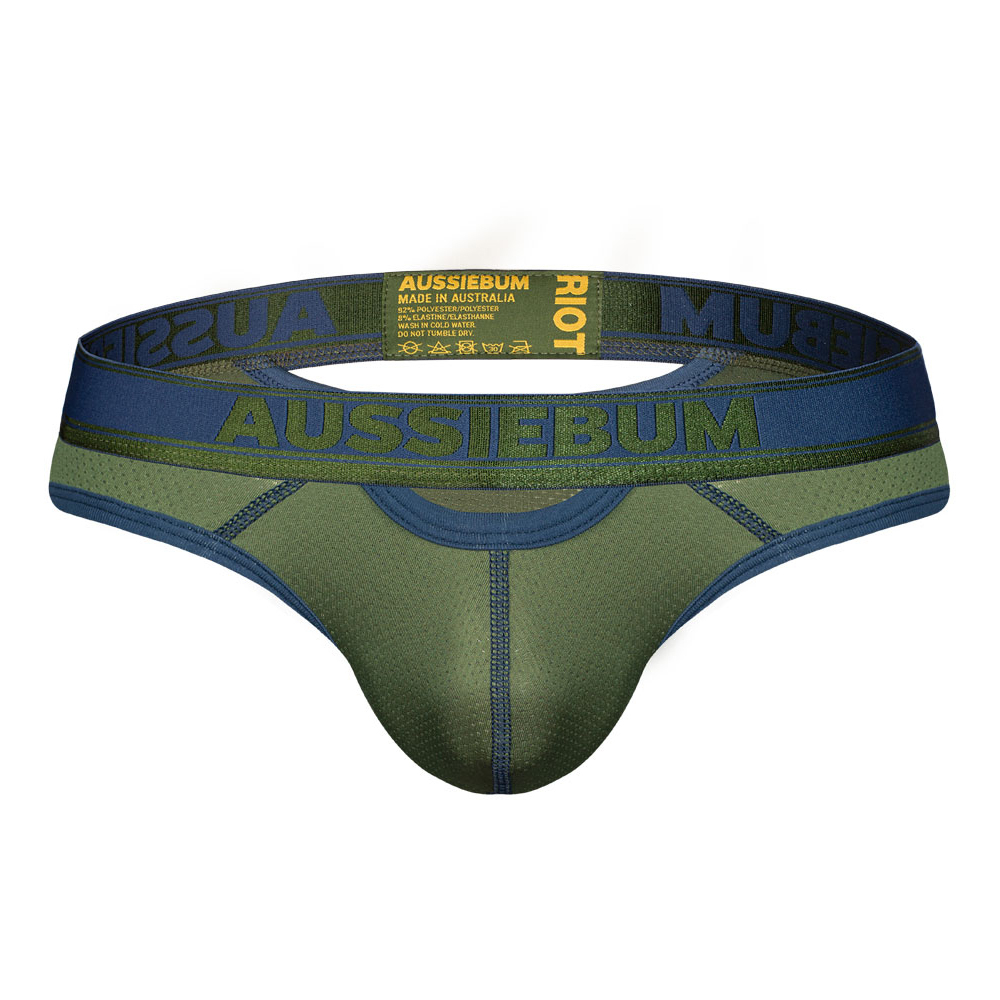 aussieBum Underwear Riot Brief Army