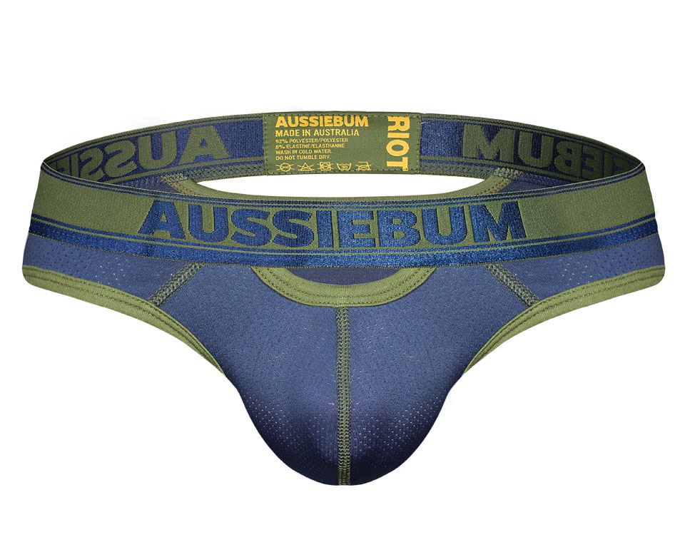 aussieBum Underwear Riot Brief Navy