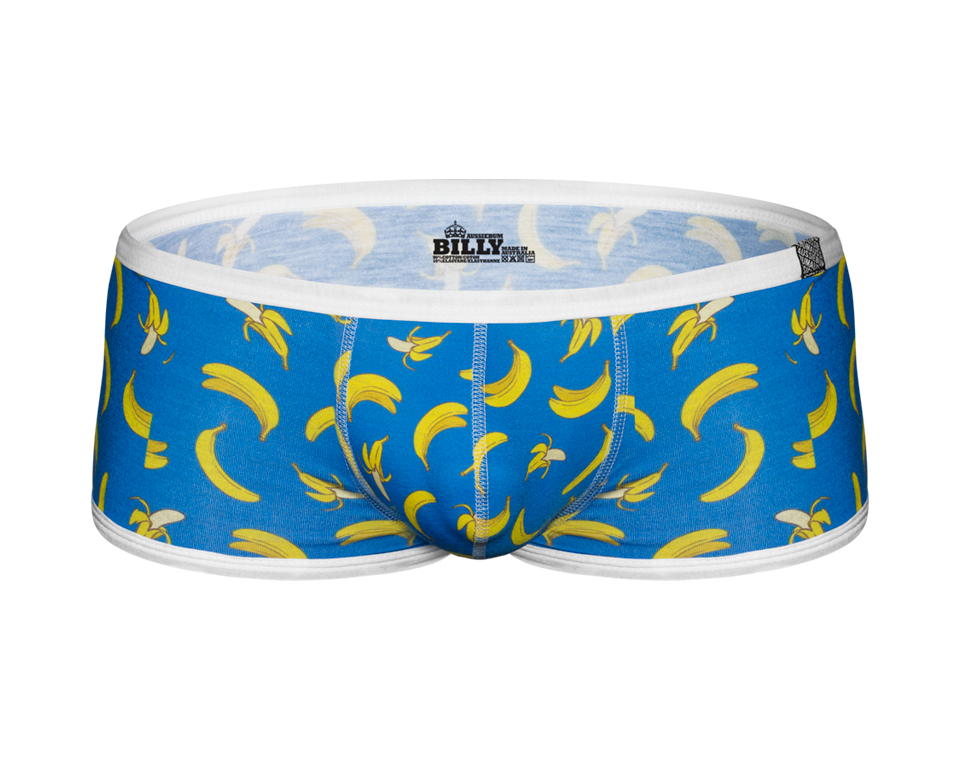 aussieBum Underwear Billy Hipster Banana Blue