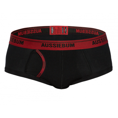 aussieBum Underwear Stan Ember Black Brief