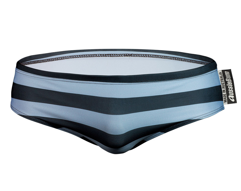 aussieBum Swimwear Lowrider Blue Wave