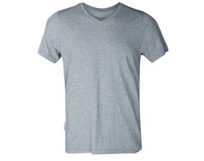 aussieBum Menswear Pima Cotton V Neck Greymarle Tops