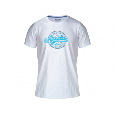 aussieBum Menswear Designer Tee Waves Blue