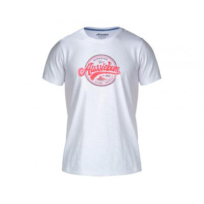 aussieBum Menswear Designer Tee Waves Red Tops