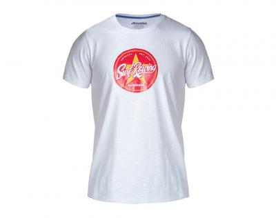 aussieBum Menswear Designer Tee Star Red Tops