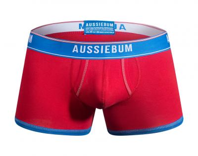 aussieBum Underwear Enlarge It Bold Red Hipster