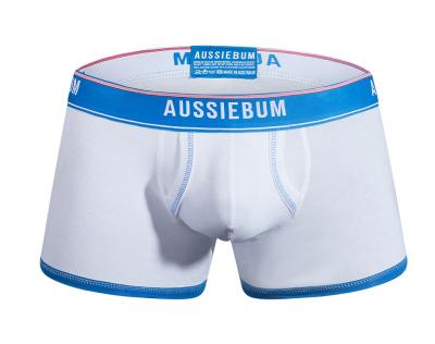 aussieBum Underwear Enlarge It Bold White Hipster