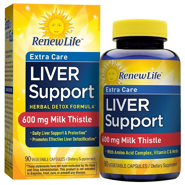 Renew Life, Critical Liver Support, 90 Veggie Caps