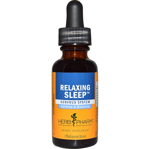 Herb Pharm, Relaxing Sleep, 1 fl oz (30 ml)