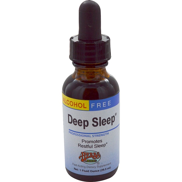 Herbs Etc., Deep Sleep, Alcohol Free, 1 fl oz (29.5 ml)