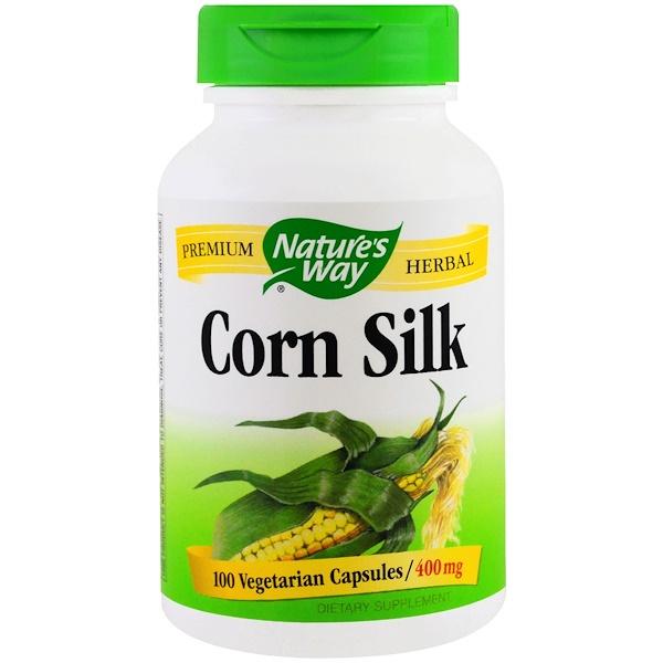 Nature's Way, Corn Silk, 400 mg, 100 Veggie Caps