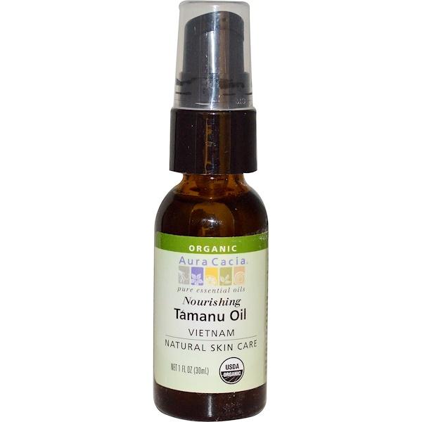 Aura Cacia, Organic, Tamanu Oil, Nourishing , 1 fl oz (30 ml)