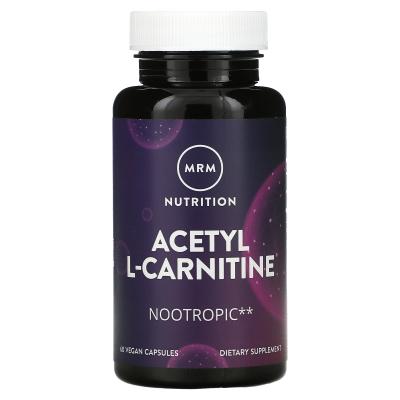 MRM, Acetyl L-Carnitine, 500 mg, 60 Vegan Capsules