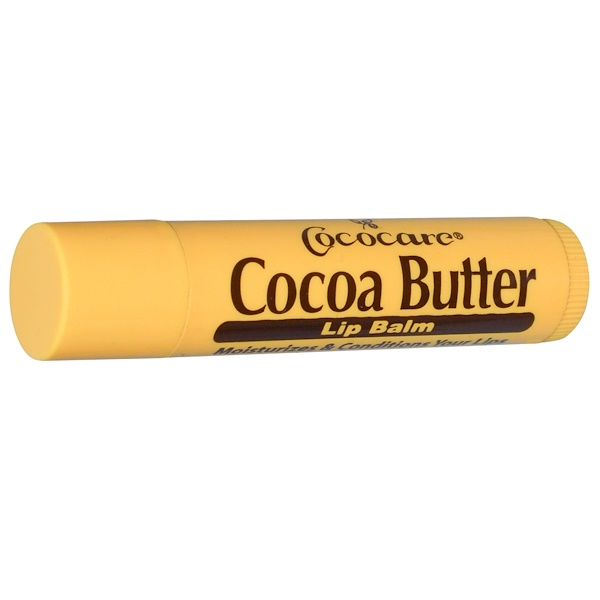 Cococare, Cocoa Butter Lip Balm, .15 oz (4.2 g)