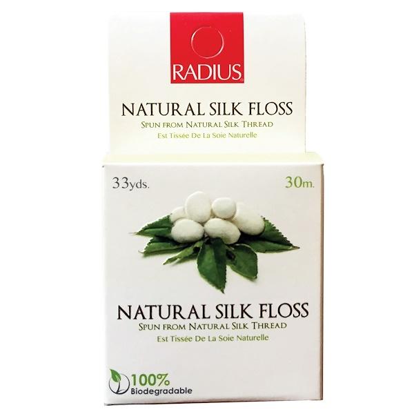 RADIUS, Natural Silk Floss, 33 yds (30 m)