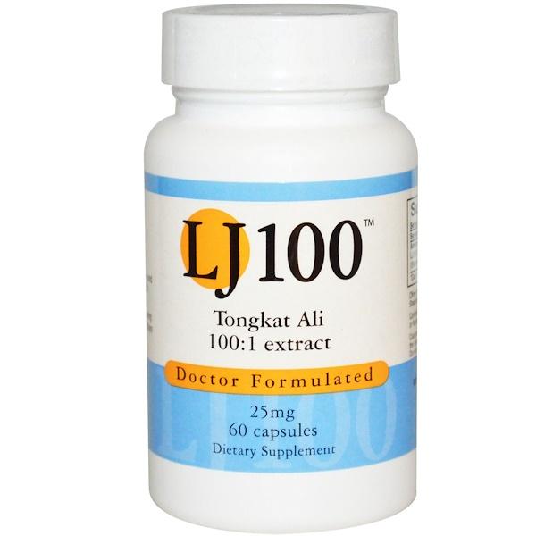 Advance Physician Formulas, Inc., Tongkat Ali, LJ 100, 25 mg, 60 Capsules