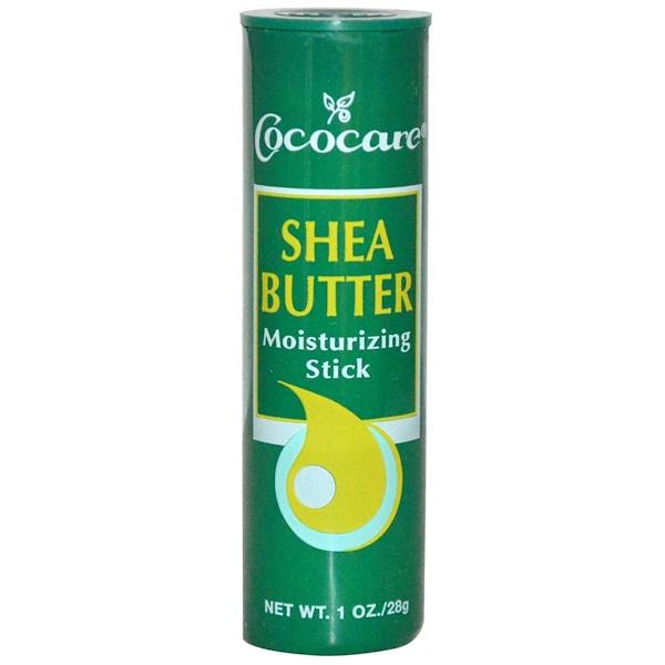 Cococare, Shea Butter Moisturizing Stick, 1 oz (28 g)