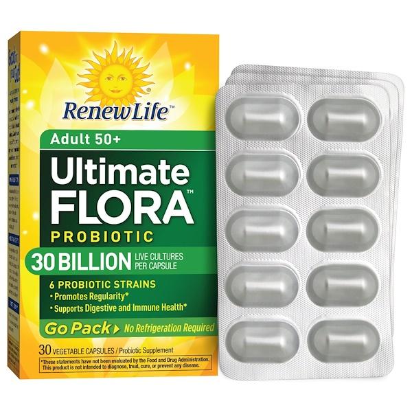 Renew Life, Ultimate Flora Probiotic, 30 Billion, 30 Veggie Caps