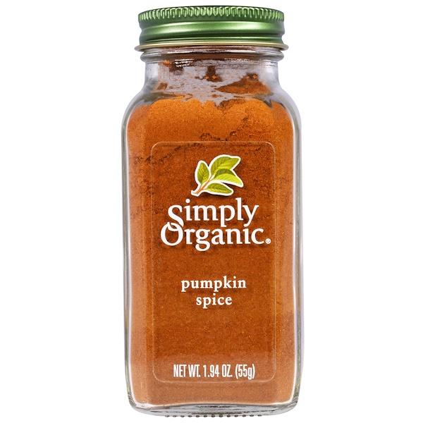 Simply Organic, Pumpkin Spice, 1.94 oz (55 g)
