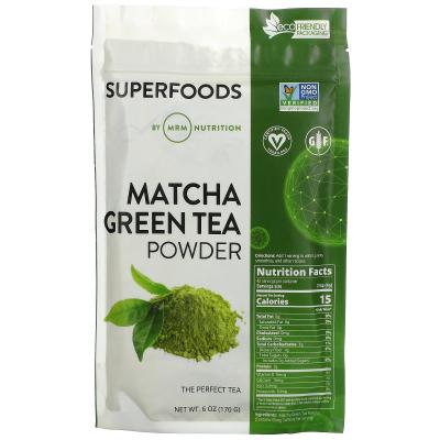 MRM, Raw Matcha Green Tea Powder, 6 oz (170 g)
