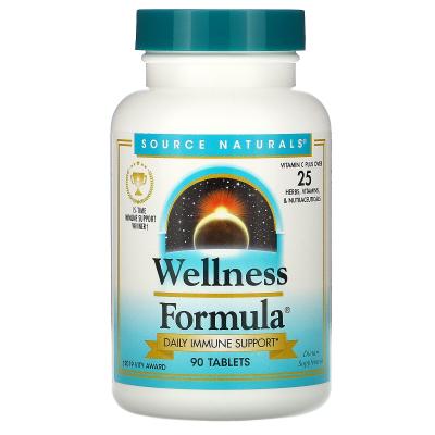 Source Naturals, Wellness Formula, Bio-Align, Herbal Defense Complex, 90 Tablets