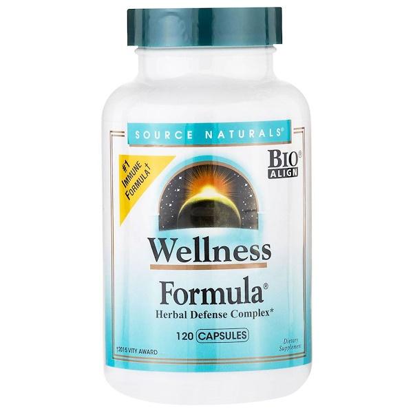 Source Naturals, Wellness Formula, 120 Capsules