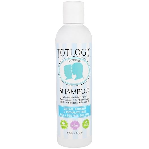 Logic Products, TotLogic, Shampoo, 8 fl oz (236 ml)
