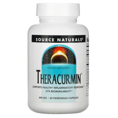 Source Naturals, Theracurmin, 600 mg, 60 Veggie Caps