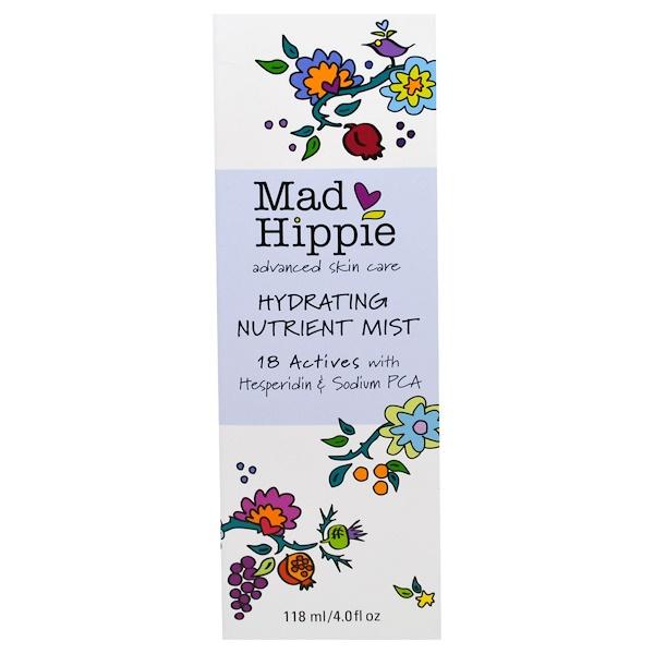 Mad Hippie Skin Care Products, Hydrating Nutrient Mist, 4.0 fl oz (118 ml)