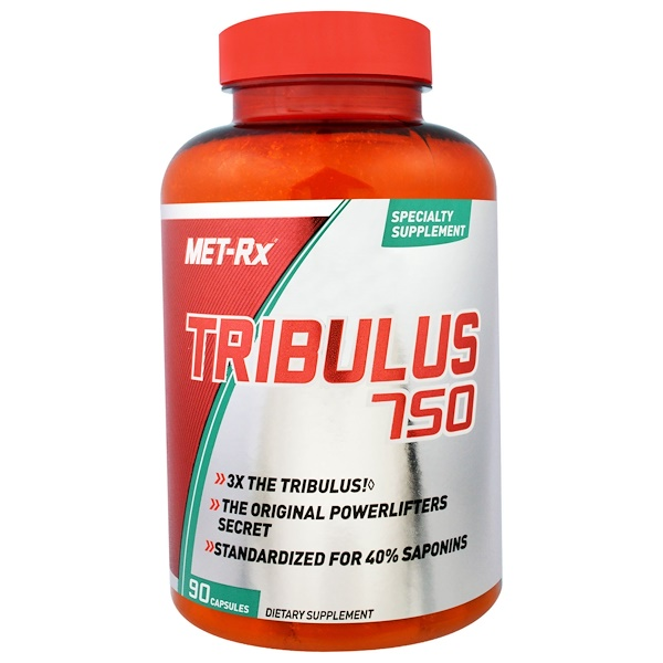 MET-Rx, Tribulus 750, 90 Capsules