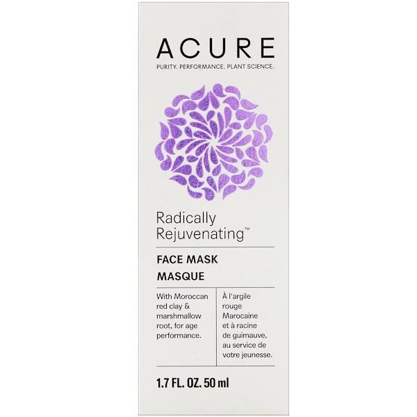 Acure Organics, Pore Clarifying Red Clay Mask, 1.7 fl oz (50 ml)