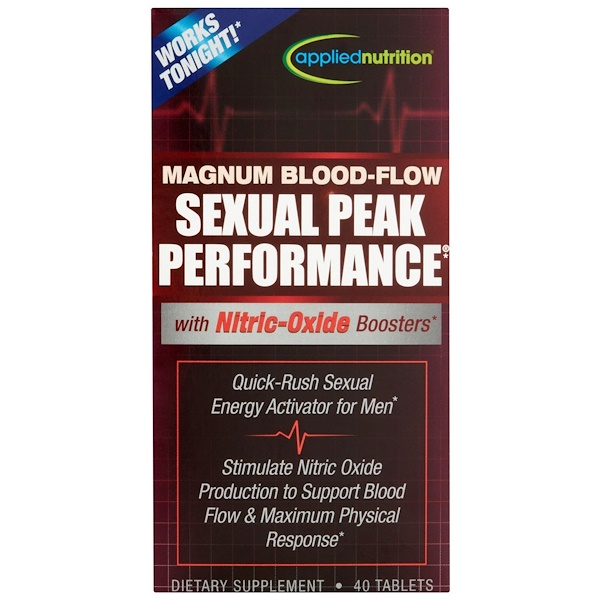 Irwin Naturals, Magnum Blood-Flow Sexual Peak Peformance, 40 Tablets