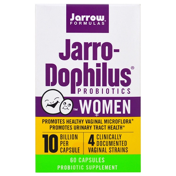 Jarrow Formulas, Jarro-Dophilus Probiotics, 10 Billion, Women, 60 Capsules