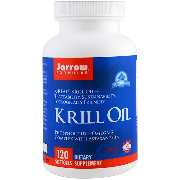 Jarrow Formulas, Krill Oil, 120 Softgels