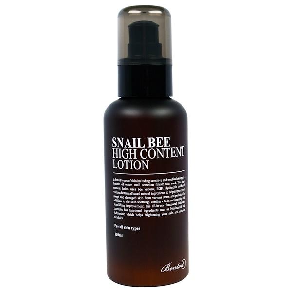 Benton, Snail Bee, High Content Lotion, 120 ml