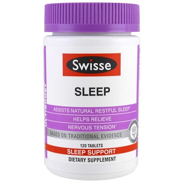 Swisse, Ultiboost, Sleep, 120 Tablets