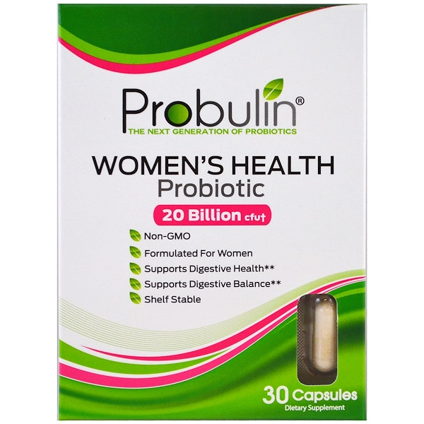 Probulin, Women's Health, Probiotic, 30 Capsules