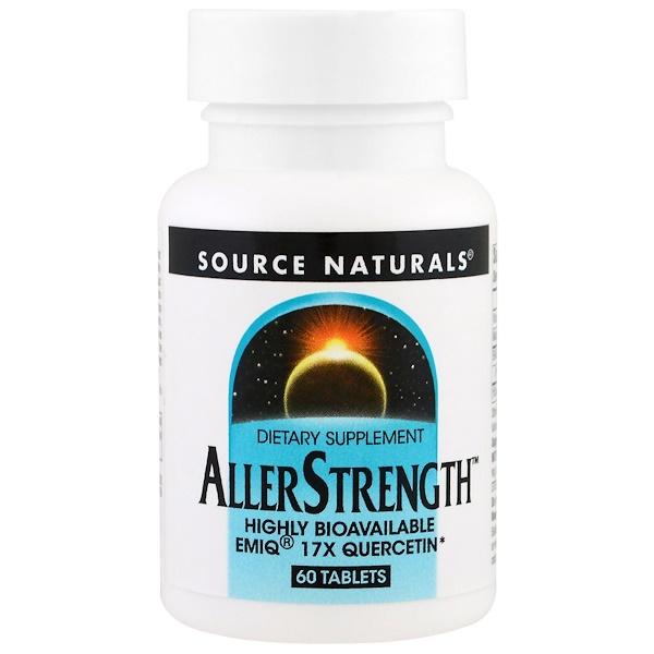 Source Naturals, AllerStrength, 60 Tablets