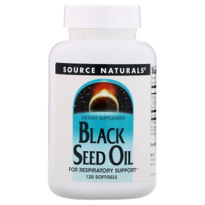 Source Naturals, Black Cumin Seed Oil, 120 Softgels