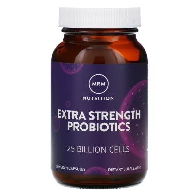 MRM, Extra Strength Probiotic, 30 Vegan Capsules