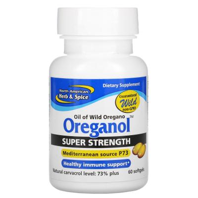 North American Herb & Spice Co., Oreganol, Super Strength, 60 Softgels