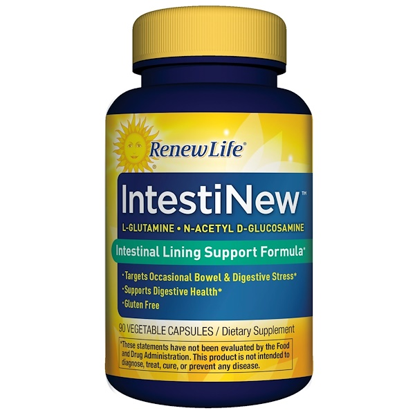 Renew Life, IntestiNew, 90 Veggie Caps
