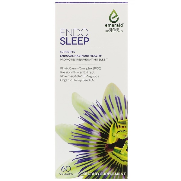 Emerald Health Bioceuticals, Inc, EndoSleep, 60 Gelcaps