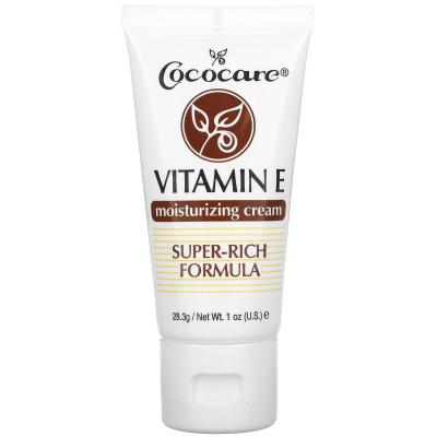 Cococare, Vitamin E Moisturizing Cream, 1 oz (28.3 g)